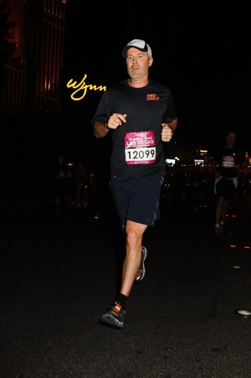 Tim Williams Running for OMO CHILD