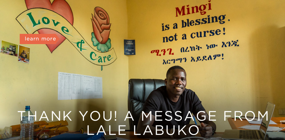 Message from Lale Labuko